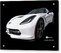 Ray Of Light - Corvette Stingray Acrylic Print by Gill Billington