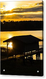 Rays Over The Resting Place Acrylic Print by Parker Cunningham