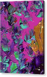 Razberry Ocean Of Butterflies Acrylic Print