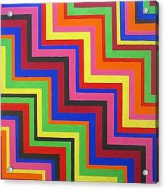 Razzmatazz Acrylic Print by Oliver Johnston