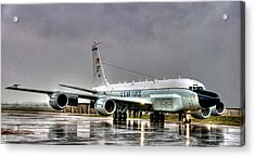 Rc-135 Rivet Joint Acrylic Print