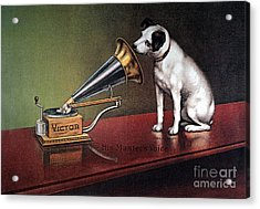 Rca Victor Trademark Acrylic Print by Granger