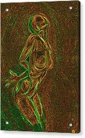Reach Acrylic Print by Aiden Galvin