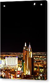 Reaching For The Half Moon Acrylic Print by James Marvin Phelps