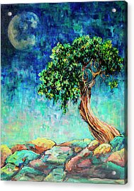 Reaching For The Moon #1 Acrylic Print