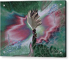 Reaching Out Acrylic Print