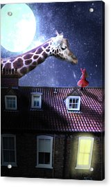 Reaching Out Acrylic Print by Nathan Wright