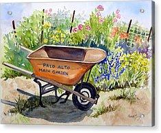 Ready At The Main Garden Acrylic Print
