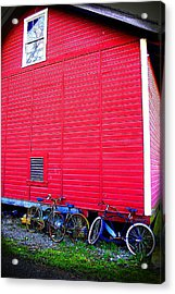 Ready For A Bike Ride Acrylic Print by Karla DeCamp