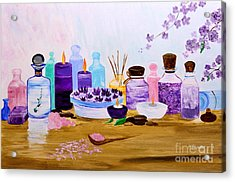 Ready For Relaxation Acrylic Print