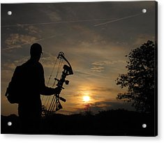 Ready For The Morning Hunt Acrylic Print