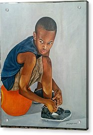Ready To Play Acrylic Print
