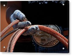 Acrylic Print featuring the photograph Ready To Rope by Roger Mullenhour