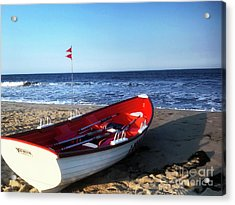 Ready To Row Acrylic Print