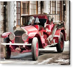 Acrylic Print featuring the photograph Ready To Serve Again by Wilma Birdwell
