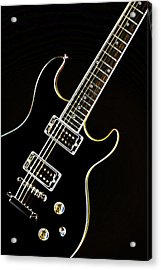 Real Electric Guitar Acrylic Print