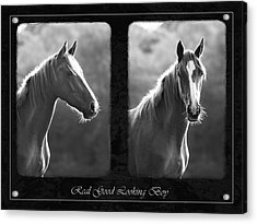 Real Good Looking Boy Acrylic Print by Hazy Apple