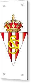 Real Sporting De Gijon Sad Acrylic Print