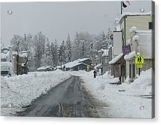 Real Winter Acrylic Print