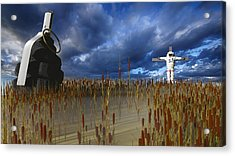 Reap What You Sow Acrylic Print by Brainwave Pictures