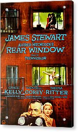 Rear Window, Grace Kelly, James Acrylic Print