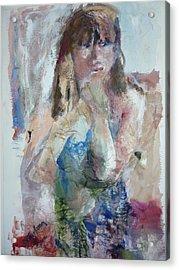Rebecca Acrylic Print by Dorothy Herron