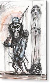 Rebel Evolution Acrylic Print by Tai Taeoalii