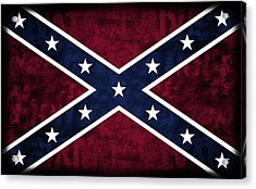 Rebel Flag Acrylic Print