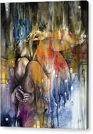 Rebirth Acrylic Print by Patricia Ariel