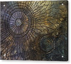 Acrylic Print featuring the painting Rebirth by Patricia Lintner