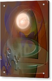 Rebirth Acrylic Print by Stephen Lucas