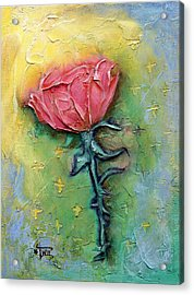 Acrylic Print featuring the mixed media Reborn by Terry Webb Harshman