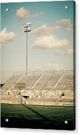 Acrylic Print featuring the photograph Recalling High School Memories by Trish Mistric
