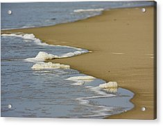 Receding Wave Acrylic Print