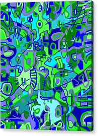 Recess Acrylic Print by Jeff Gater