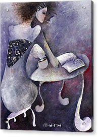 Recipies Book Acrylic Print