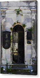 Recoleta Door Acrylic Print