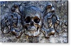 Recoleta Skull Acrylic Print