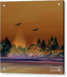 Recon Acrylic Print by Corey Ford