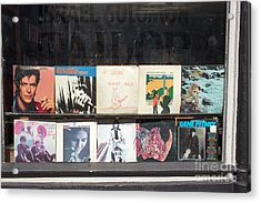Record Store Burlington Vermont Acrylic Print by Edward Fielding