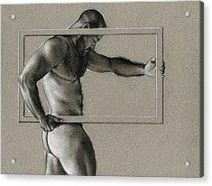 Rectangle Acrylic Print by Chris Lopez