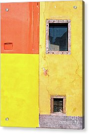 Acrylic Print featuring the photograph Rectangles by Silvia Ganora