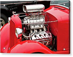 Acrylic Print featuring the photograph Red 1992 by Guy Whiteley