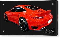 Red 911 Acrylic Print