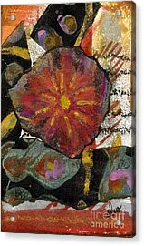 Red Affection Acrylic Print by Angela L Walker
