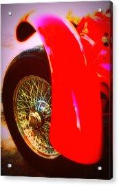 Red Allard Acrylic Print