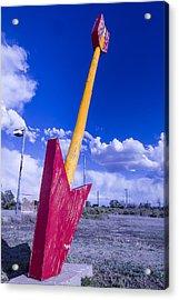 Red Arrow 2 Acrylic Print