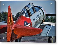 Red At-6 Acrylic Print by Steven Richardson