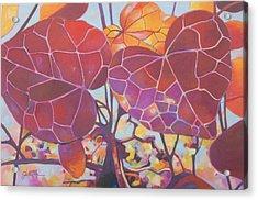 Red Autum Acrylic Print