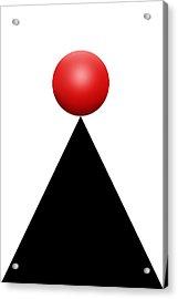 Red Ball 28c V Acrylic Print